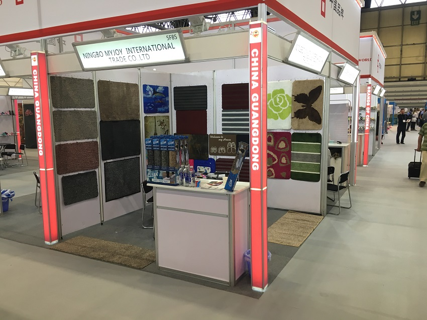 Magic Clean Mat in Autumn Fair Interntional Birmingham Trade Exhibition